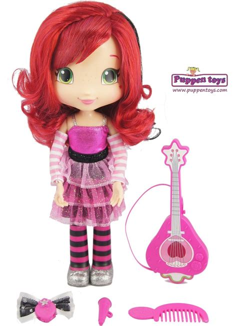 Singer Doll strawberry shortcake singer doll bandai juguetes puppen toys