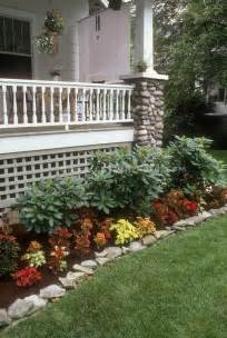 Garden Bed Ideas For Front Of House Flower Bed Idea Cant Wait To Pull Up Shrubbery And Start Mobile Home Ideas