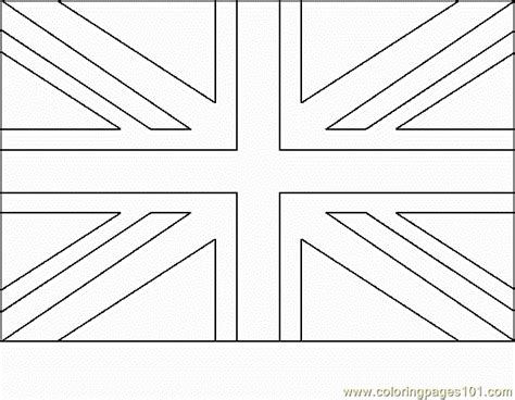 free coloring pages of england flag outline free coloring pages of united kingdom outline