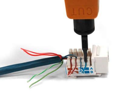 how to wire keystone