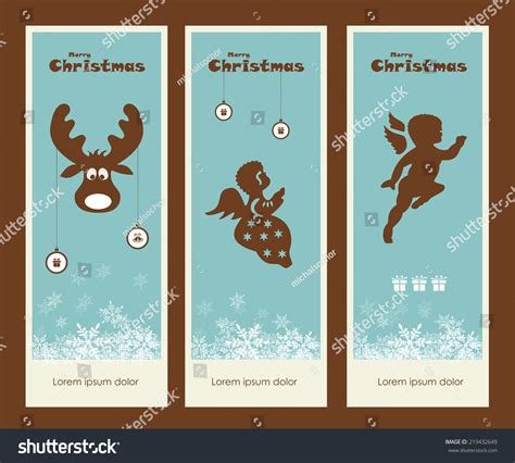 merry christmas gift tags collection vector illustration  shutterstock