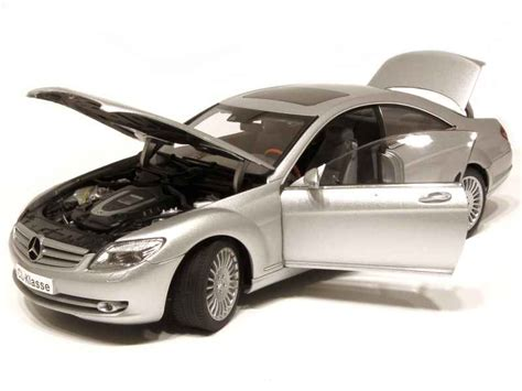 118 Autoart Mercedes Cl Class Silver mercedes cl class c216 2006 autoart 1 18 autos