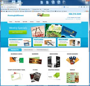 Printing Company Website Templates Themes Printing Ecommerce Website Template