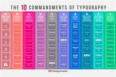 designmantic similares os 10 mandamentos da tipografia as regras que todo