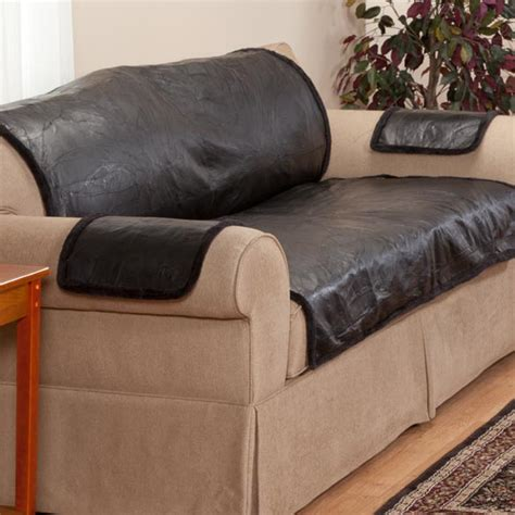 How To Cover Leather Sofa Leather Furniture Cover Leather Protector Easy Comforts