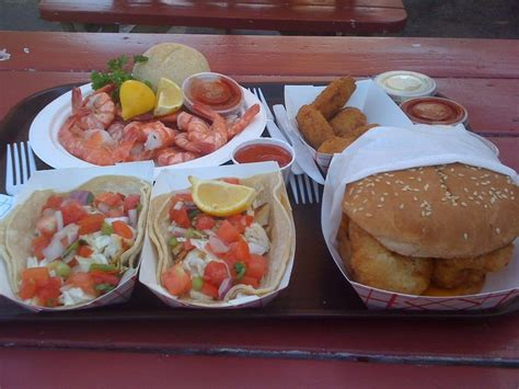 grilled fish tacos peel eat shrimp fried oysters fish