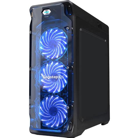 Segotep Fan Casing Polar Wind 15 Teeth Led L Blue Led segotep casing with blue led fan end 1 22 2019 9 15 pm