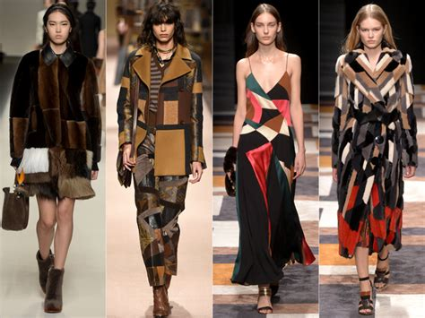 Patchwork Fashion Designers - milan fashion week fall 2015 trends