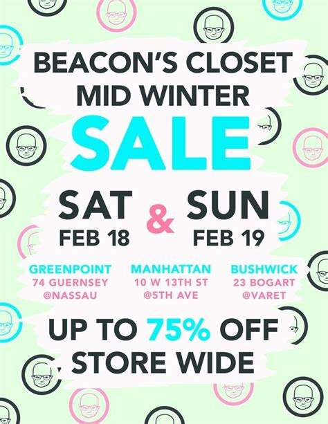 Beacons Closet Bk by Your Calendars For Beacon S Closet S Mid Winter Sale