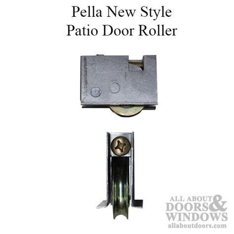 Pella Patio Door Parts Roller Assembly Pella Patio Door New Style