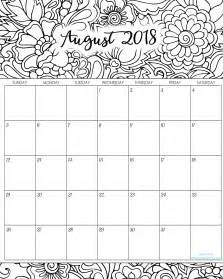 color me weekly planner 2018 daily planner weekly planner monthly planner 2018 planner 2018 agenda stress relief coloring books 2018 monthly coloring calendars printables titus