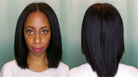 hairstyles for straight hair without heat how i get my 4c natural hair straight without heat damage
