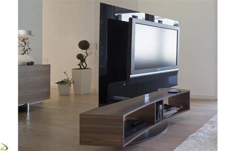 mobili soggiorno porta tv porta tv curvo e girevole odeon arredo design