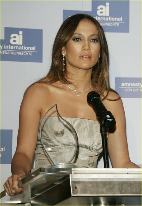 Jlo To Receive Amnesty Award by Granted Amnesty Award Photo 2418360