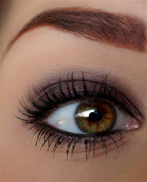 Mascara Eyeshadow pretty brown eye makeup use garnet shadowsense to achieve