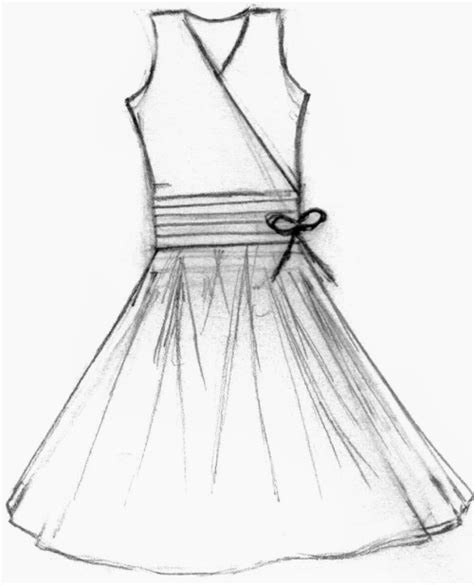 how to design a dress how to draw a dress design to show your fashion