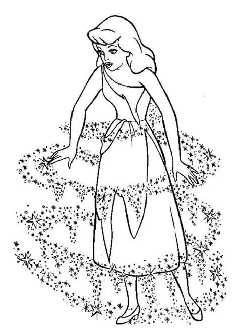 disney princess cinderella coloring pages coloring home