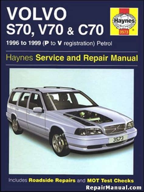 haynes 1996 1999 volvo s70 v70 c70 auto repair workshop manual