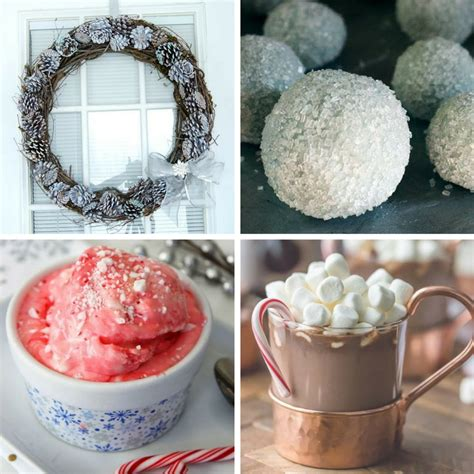 winter food crafts for 10 winter crafts and 10 winter recipes for the chilly