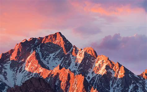 wallpaper 4k macbook ar67 4k sierra apple wallpaper art mountain sunset wallpaper