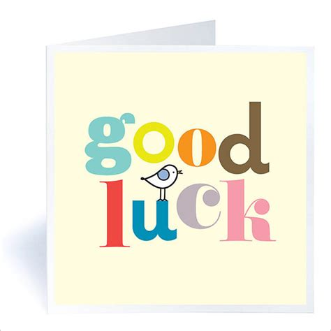 Luck Greeting Card Template by 7 Luck Card Templates Psd Eps Free Premium