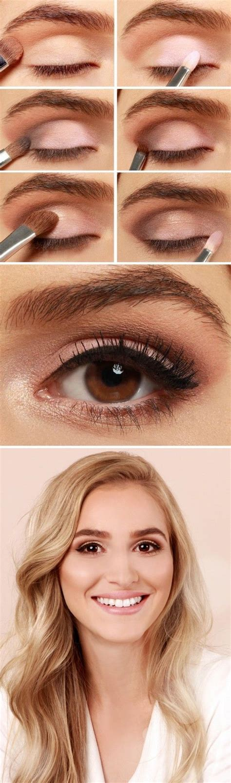 natural eye makeup tutorial for brown eyes 20 most popular makeup ideas for brown eyes in pinterest