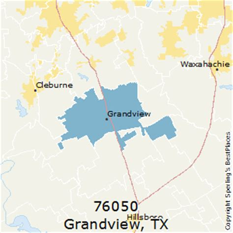 grandview texas map best places to live in grandview zip 76050 texas