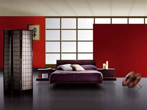 bedroom in japanese bedroom japanese style bedroom furniture with red wall