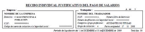nuevo modelo de recibo individual justificativo del pago de salarios entender la n 243 mina