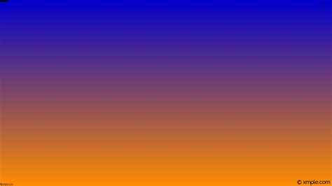 wallpaper blue and orange wallpaper orange blue gradient linear 0000cd ff8c00 75 176