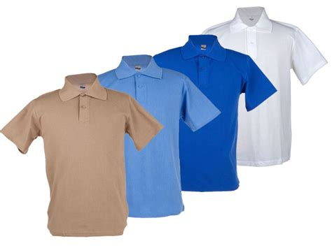 Basic Sweater Polos Sweater Oblong Blue Navy Unisex 195g vic bay unisex basic polo focus gifts and clothing