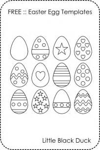 small easter egg template free template archives black duck