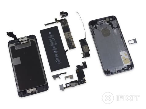 iphone 6s plus完全拆解 cpu内存闪存全变了 苹果 iphone 6s plus 拆解 ifixit 内存 闪存 驱动之家