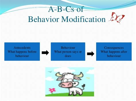 Behavior Modification Therapy by Organizational Behavior Behavior Modifications