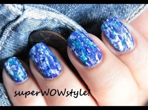 Nail With Nail Only by Denim Nails No Tools Nail Designs Without