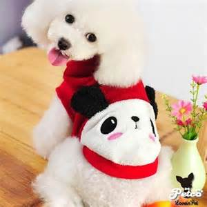 cute dog products wholesale newest happy bear winter dog clothes cute pet