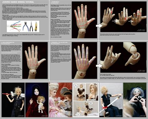 jointed doll tutorial polymer clay 70 best images about dolls bjd on miniature
