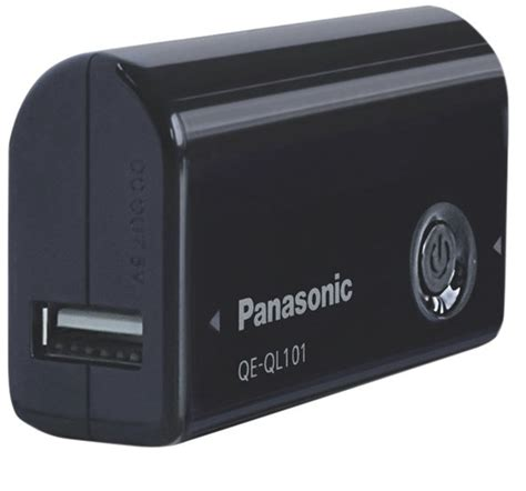 Power Bank Panasonic Qe Ql101 power bank panasonic qe ql101 2700 mah 1a 芻ern 225 panqeql101 panasonic eshop elektro