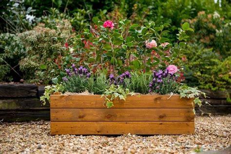 vasi in legno da giardino fioriere legno vasi fioriere in legno