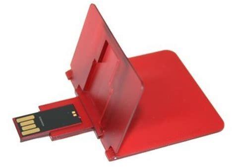 Freecom Usbcard Is Credit Card Like Slim by Slim Data 4gb Usb Flash Card Is Like A Credit Card Itech