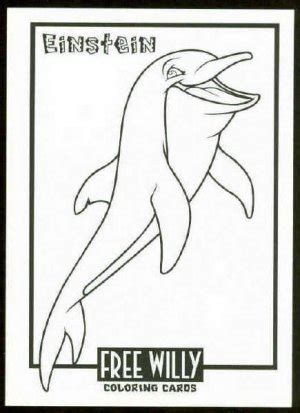 Coloring Pages Of Free Willy   free willy coloring card cc3 einstein