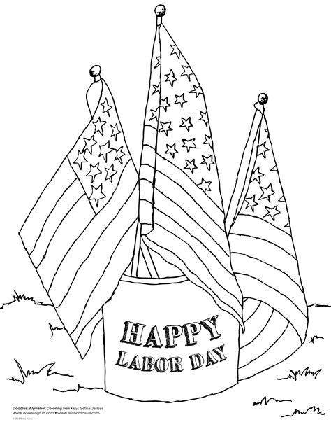 Labor Day Coloring Pages Bestofcoloring Com Free Printable Day Coloring Pages