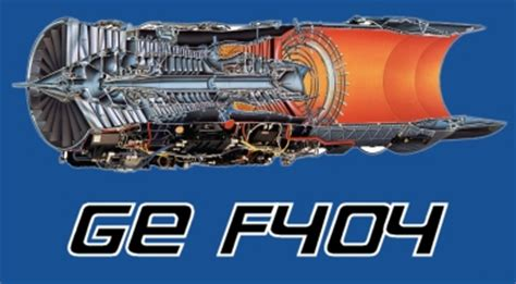 General Electric F404 Thrust Provided By Dutchops Com