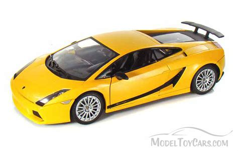 Lamborghini Gallardo Model Car Lamborghini Gallardo Superleggera Yellow Motormax 73181