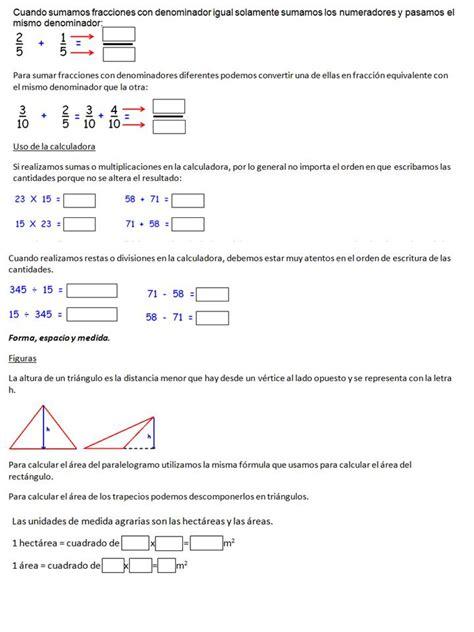 Matematicas 5to Grado Bloques 3 4 Y 5 By Sbasica Issuu   bienvenidos al blog recursos para la primaria repaso