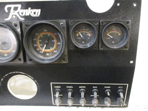 boat dash gauges 1984 renken boat dash panel gauges instrument cluster