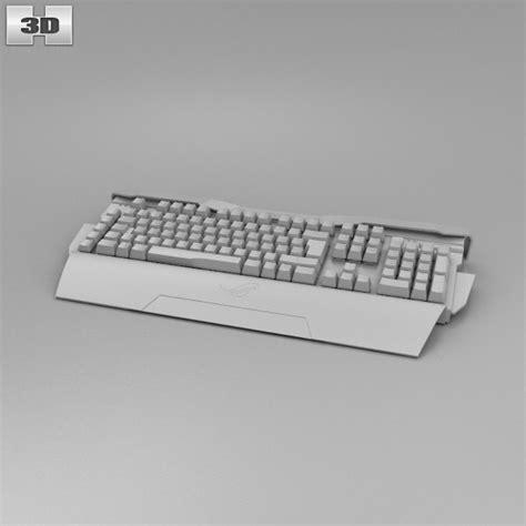 Keyboard Asus K43 Model Baut Original asus rog gk2000 keyboard 3d model hum3d