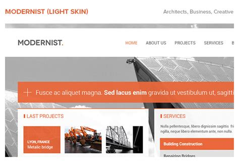 themes wordpress engineering modernist architecture engineer wordpress theme by