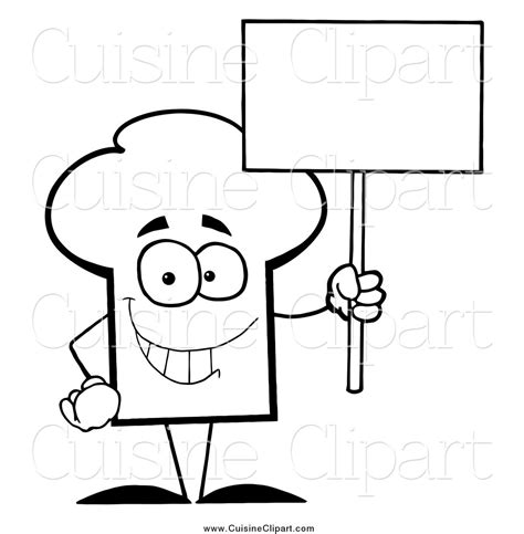 coloring page chef hat chef hat coloring pages www pixshark com images