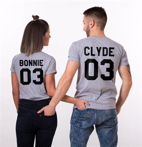 Matching Shirts For Couples And Baby Bonnie Clyde Shirts Matching Couples Shirts Unisex